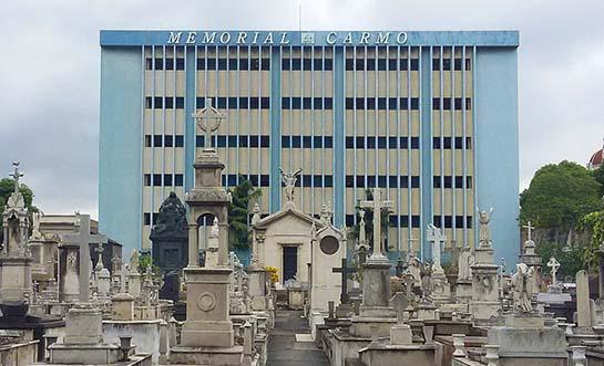 cemitério memorial Carmo