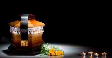 imagem de urna após família optar pela cremação